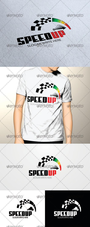 GraphicRiver Speedup Logo Template 3406839