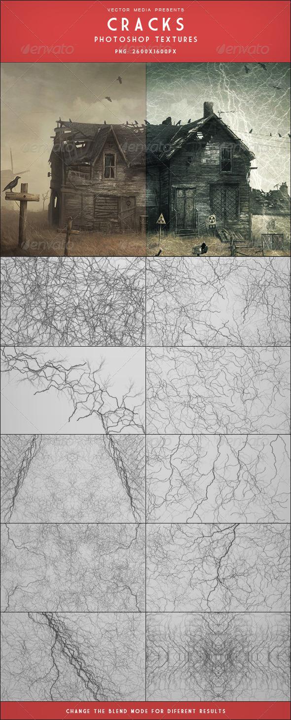 GraphicRiver Cracks Photoshop Textures 3406845