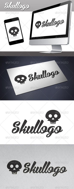 GraphicRiver Skull Logo 3406852