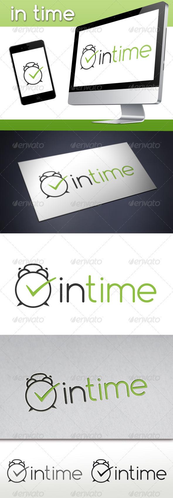 GraphicRiver Clock Logo 3407251