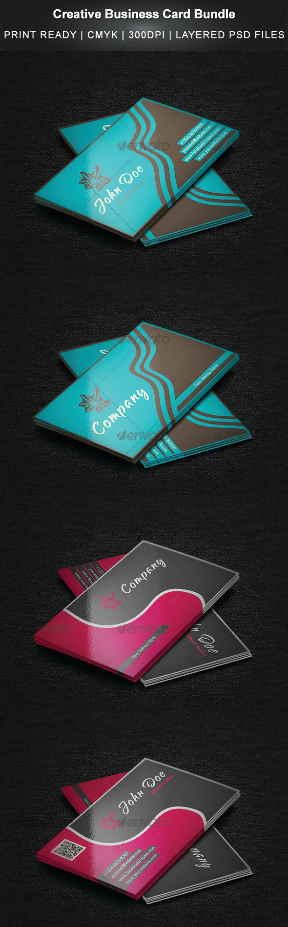 GraphicRiver Creative Business Card Bundle 3408225