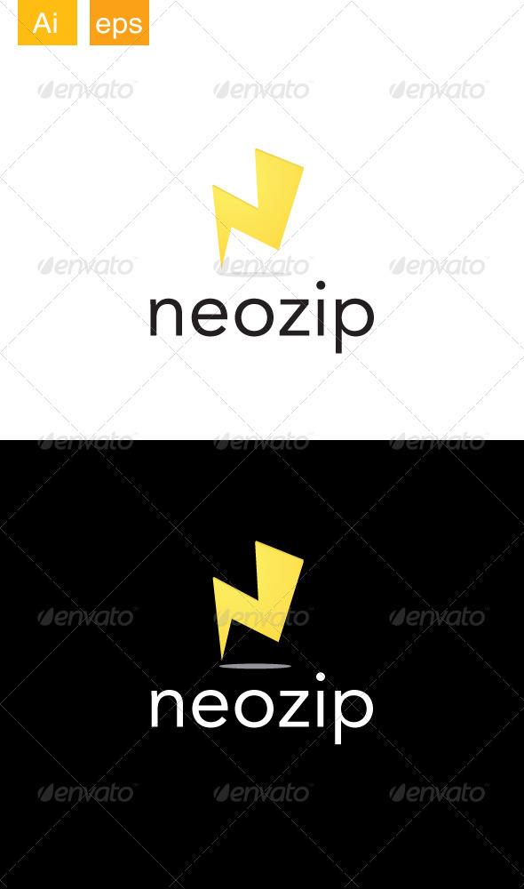 GraphicRiver Neozip Logo 3409037