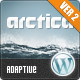 Arctica Responsive Wordpress Theme - ThemeForest Item for Sale