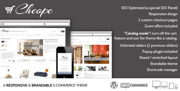 ThemeForest Cheope Shop Flexible e-Commerce Theme 3409344