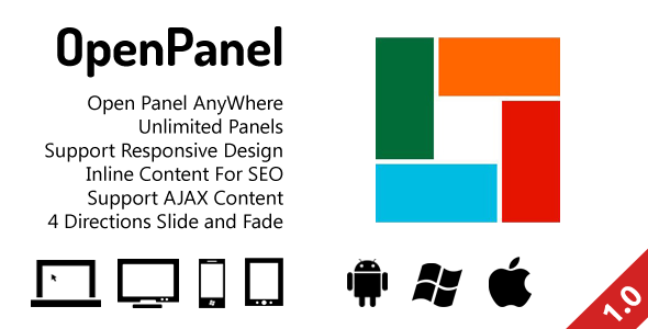 CodeCanyon OpenPanel Open Responsive Panel Anywhere 3409557