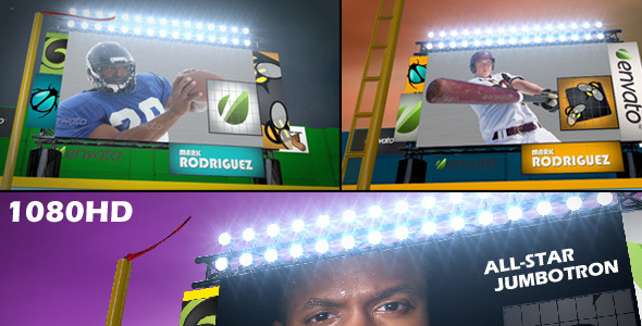 VideoHive All Star JumboTron 3409602
