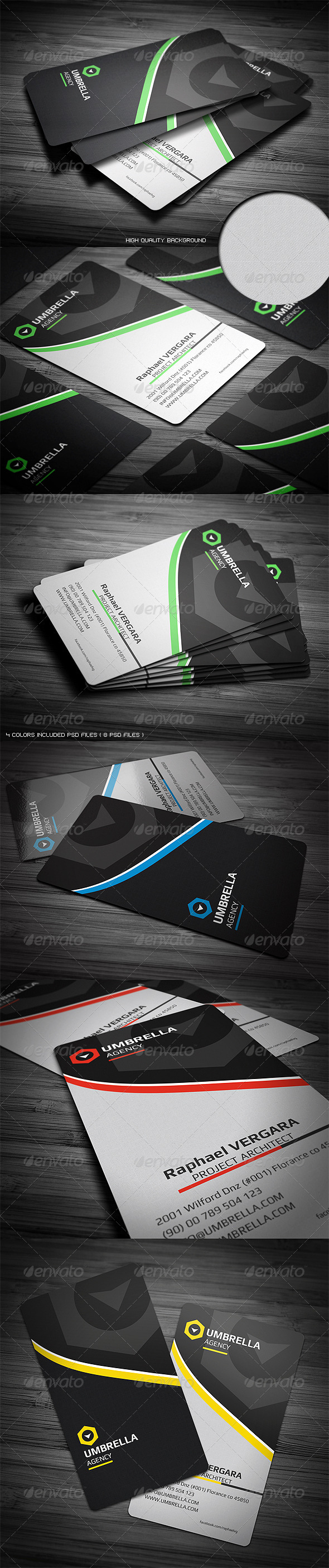 GraphicRiver Sleek Corporate Business Card 3410062