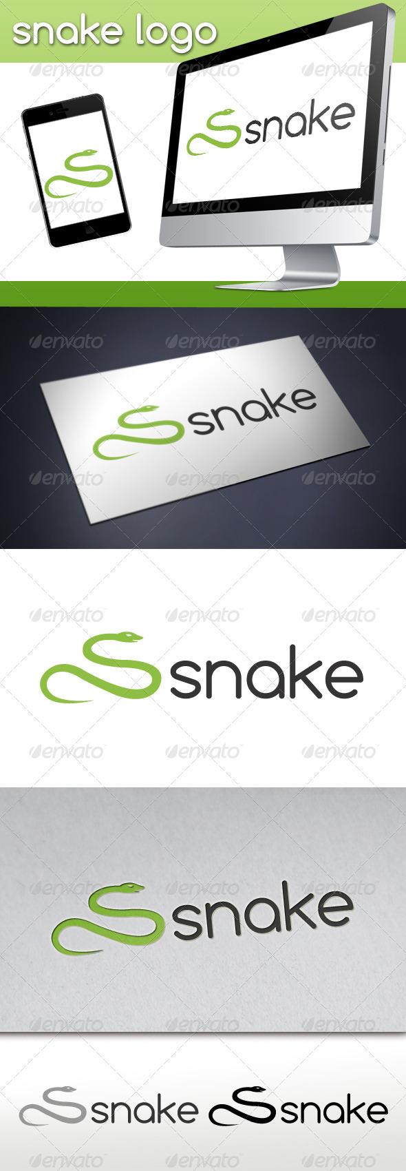 GraphicRiver Snake Logo 3410789