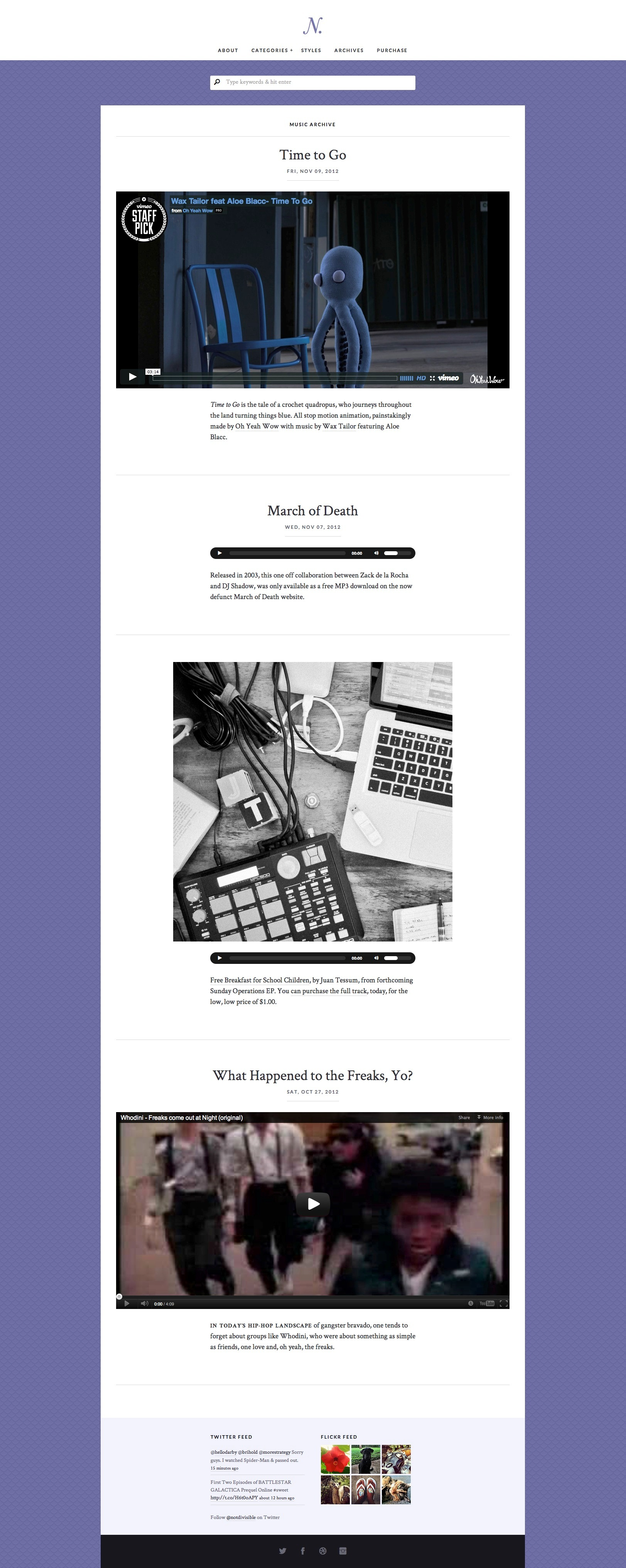Notably – A Responsive WordPress Blogging Theme