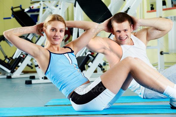 PhotoDune Doing exercise 367973