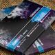 Violet Blue Grunge Business Card - GraphicRiver Item for Sale