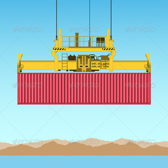 GraphicRiver Freight Container 3412251