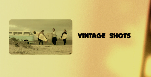 After Effects Project - VideoHive Vintage Shots 367998