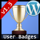 User Badges : WP User Achievements Plugin