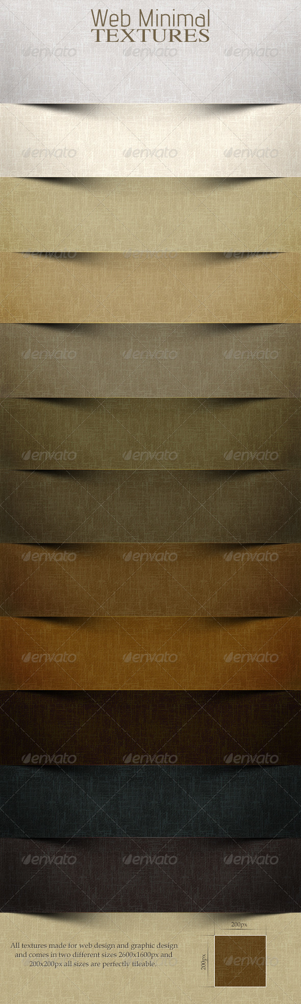 Web Minimal Textures 2.0 - Paper Textures