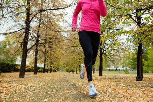 PhotoDune Autumn run 368047