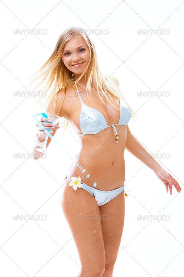 Bikini party - Stock Photo - Images