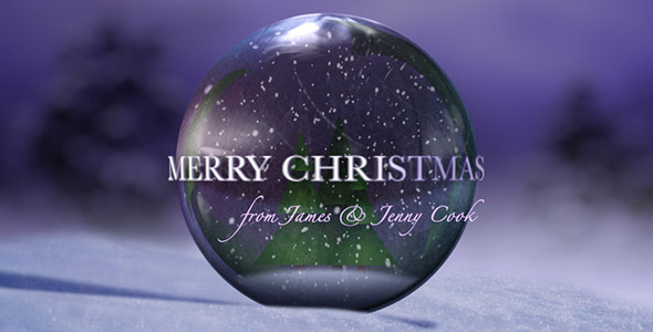 VideoHive Christmas Snow Globe 3414327