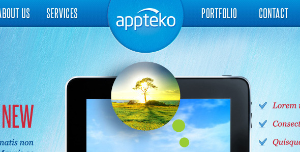 ThemeForest Appteko 3060763