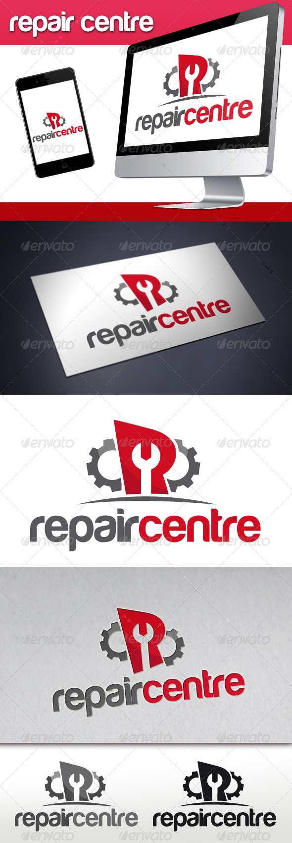 GraphicRiver Repair Service Logo 3414887
