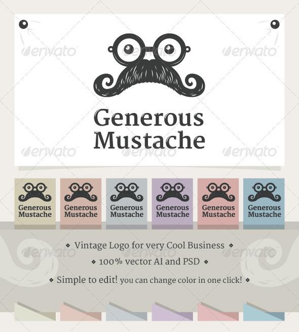 GraphicRiver Generous Mustache 3414929