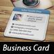 Mini Social Photo Card - GraphicRiver Item for Sale