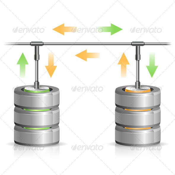 GraphicRiver Database Backup Concept 3415044