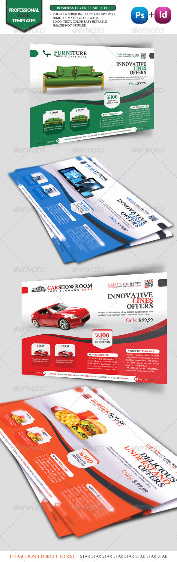 GraphicRiver Business Flyer Template Vol10 3374559