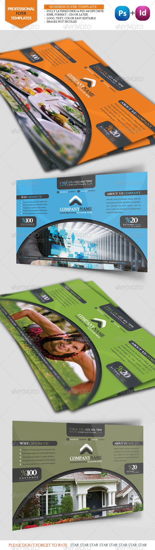 GraphicRiver Business Flyer Template 3359772