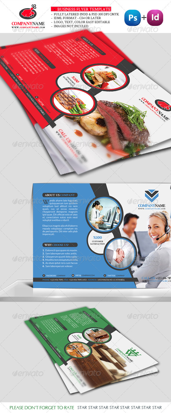 GraphicRiver Business Flyer Template Vol5 3313818