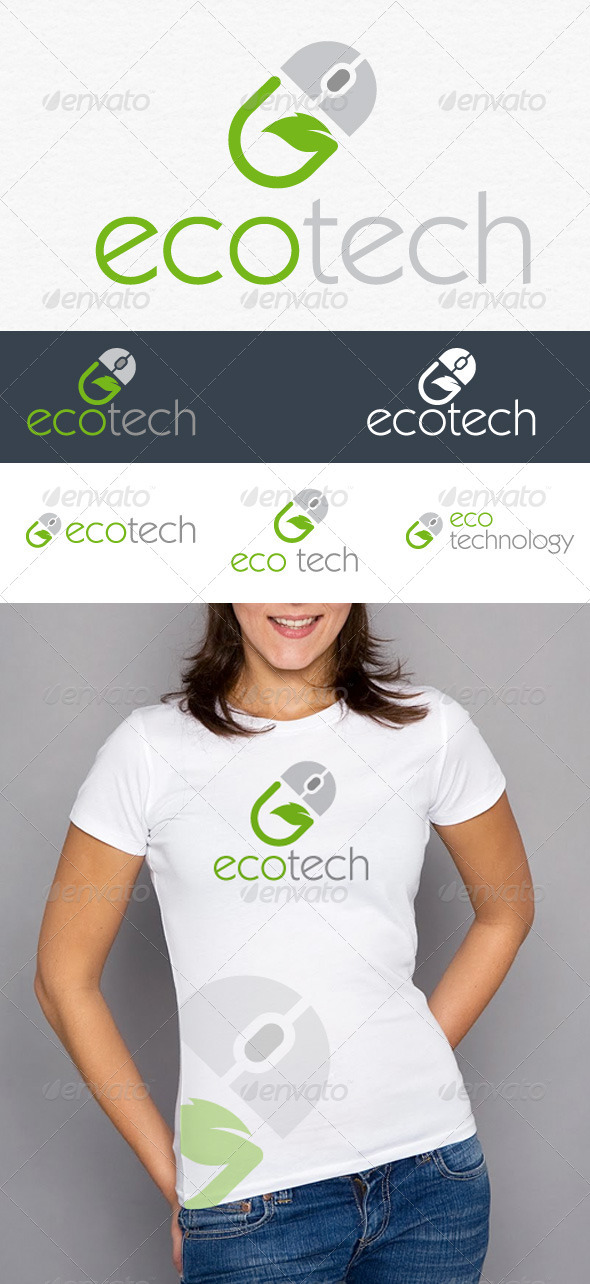 GraphicRiver Eco Tech Logo 3416135
