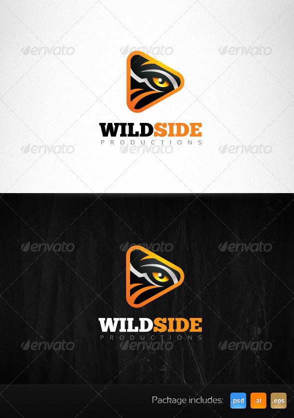Wild Side Production Tiger Eye Creative Logo - Animals Logo Templates