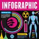 Infographic Elements - Set 07 - Black Background - GraphicRiver Item for Sale