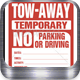 No Parking Sign - GraphicRiver Item for Sale