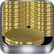 Cool GOLD Buttons w/Coin Stacks - GraphicRiver Item for Sale