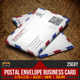 Postal Envelope Business Card - GraphicRiver Item for Sale