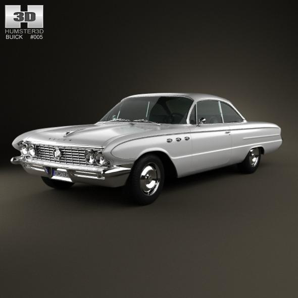 3DOcean Buick LeSabre 2-door hardtop 1961 3418478