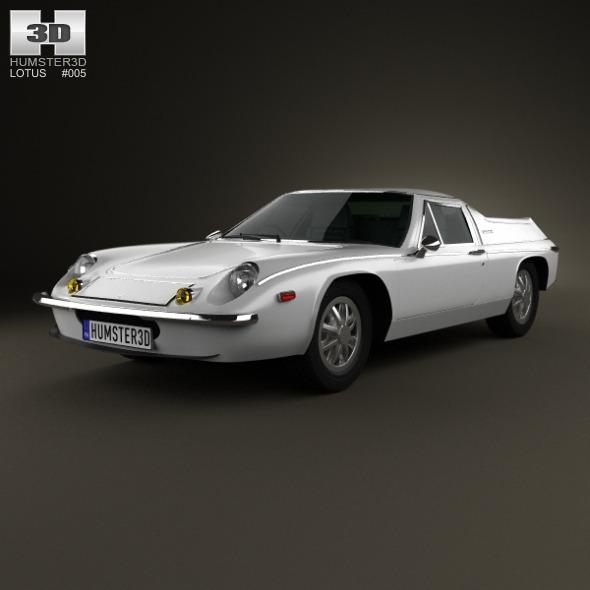 3DOcean Lotus Europa 1973 3418486