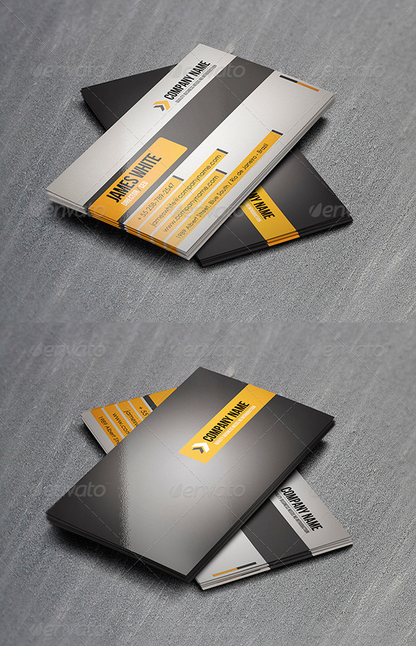 GraphicRiver Corporate Business Card 18 3418497