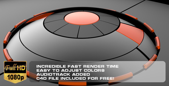 VideoHive Dark Glass Technology Reveal 3418597