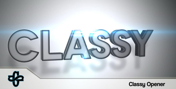 VideoHive Classy Opener 3419170