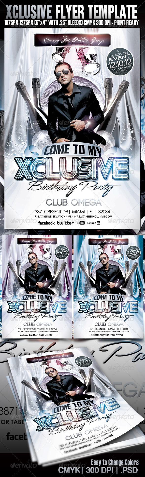 Xcluive Birthday Party