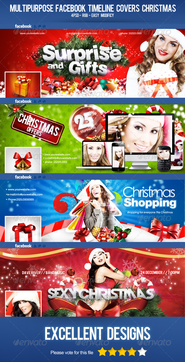 Multipurpose Facebook Timeline Covers Christmas - Facebook Timeline Covers Social Media