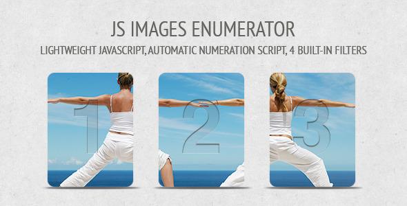 CodeCanyon JS Images Enumerator 2014342