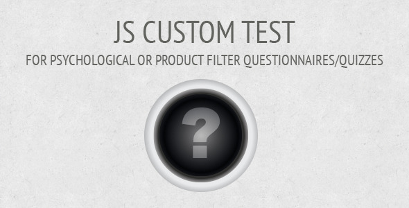 JS Custom Test - Article WorldWideScripts.net en venda