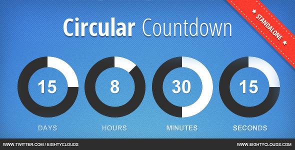 CodeCanyon JBMarket Circular Countdown 3100472