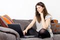 Woman Using Laptop - PhotoDune Item for Sale
