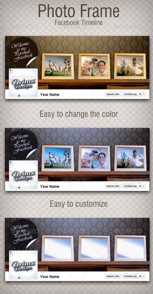Photo Frame FB Timeline - Facebook Timeline Covers Social Media
