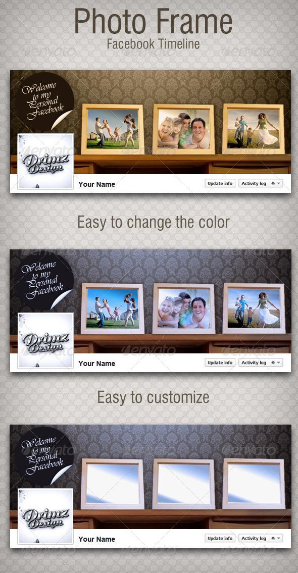 Photo Frame FB Timeline - Facebook Timeline Covers Social Media