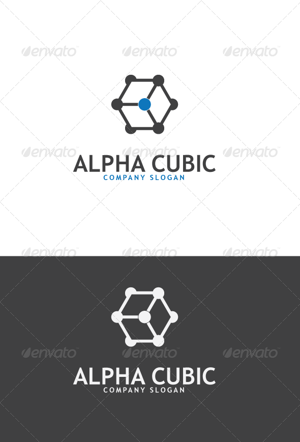 GraphicRiver AlphaCubic Logo 3422050